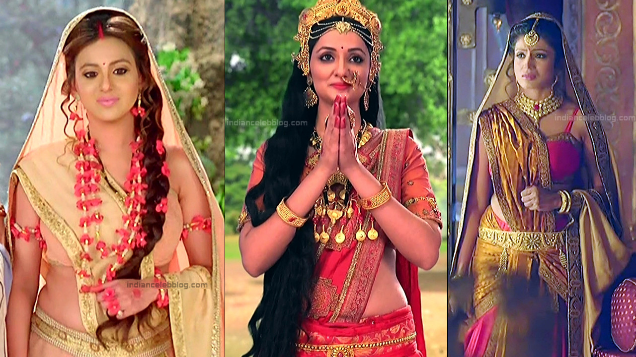 Hindi TV actress hot caps from Mythological series Mix