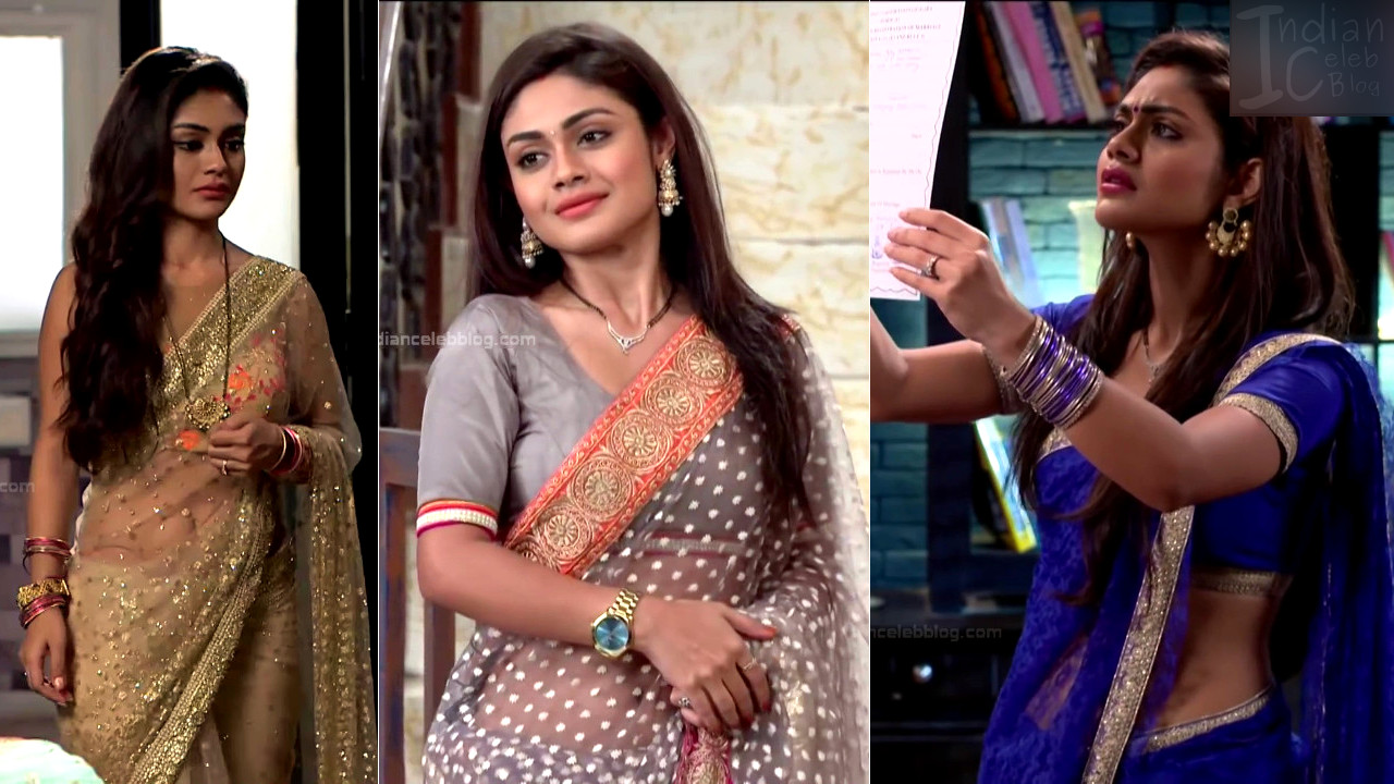 Sreejita De hindi serial actress hot pics in saree