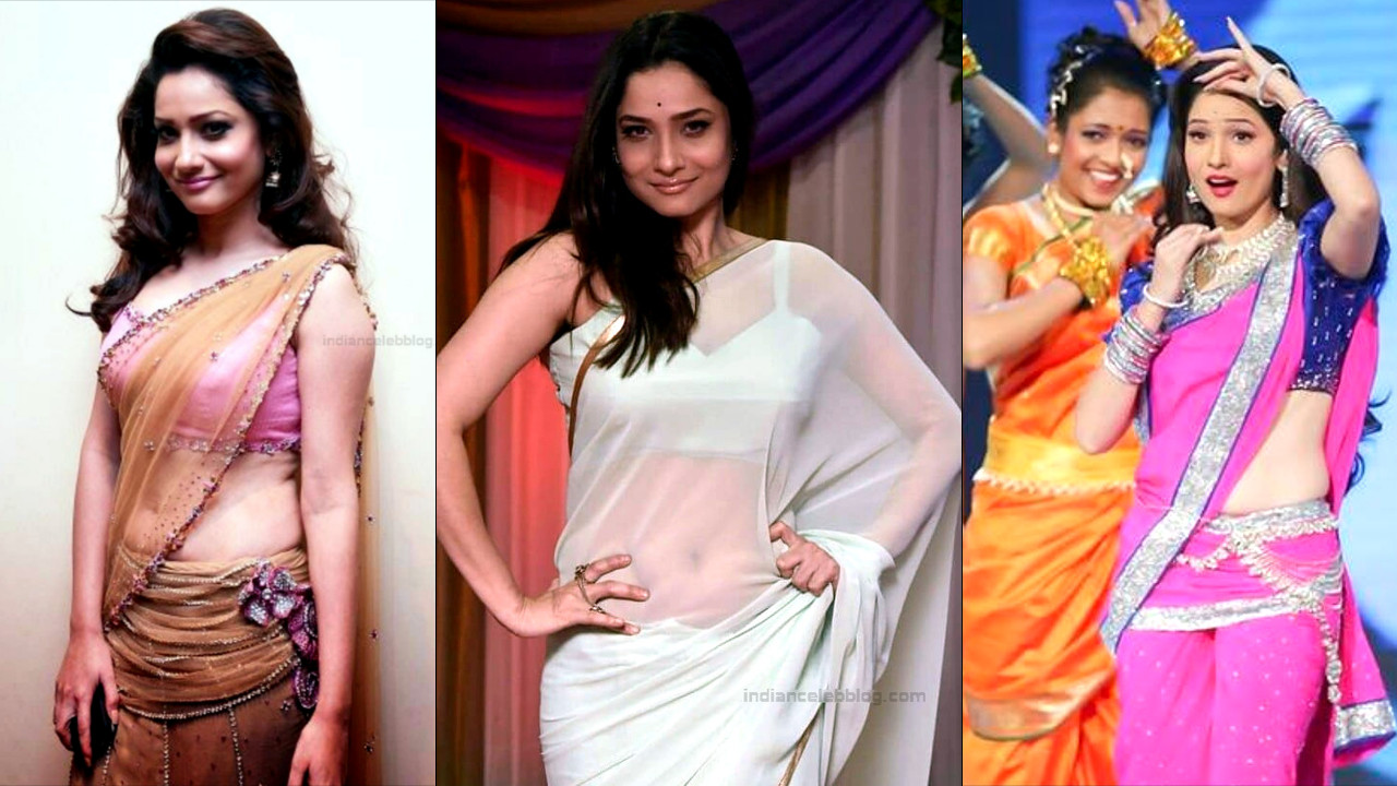Ankita Lokhande hot saree photos - Image gallery