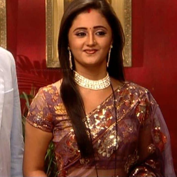 Rashami Desai Hindi Tv Actress Uttaran S1 7 Saree Photo