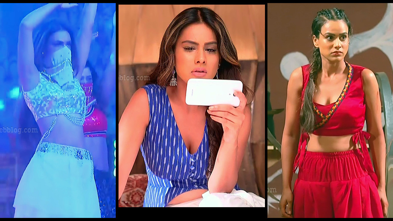 Nia  Sharma Ishq mein marjawan hindi tv serial hot caps