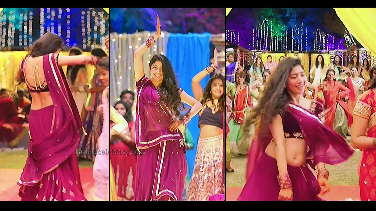 Sai Pallavi Fidaa telugu movie hot song Caps