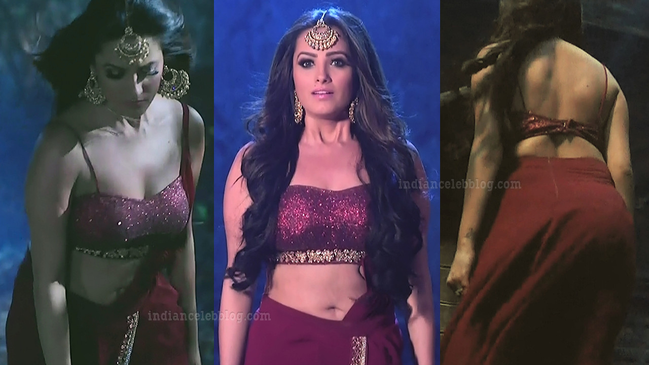 Anita hassanandani hot caps from Naagin 3 TV show