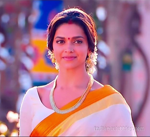 Deepika padukone chennai express S1 21 hot saree caps ...