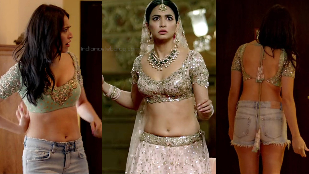Kriti kharbanda bollywood actress hot lehenga choli pics hd caps